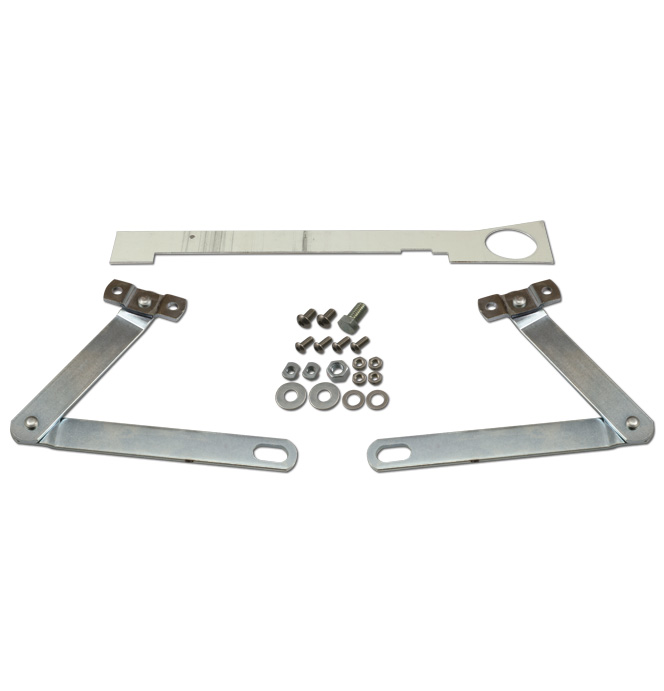 (1941-53)  Tailgate Arms - Stainless