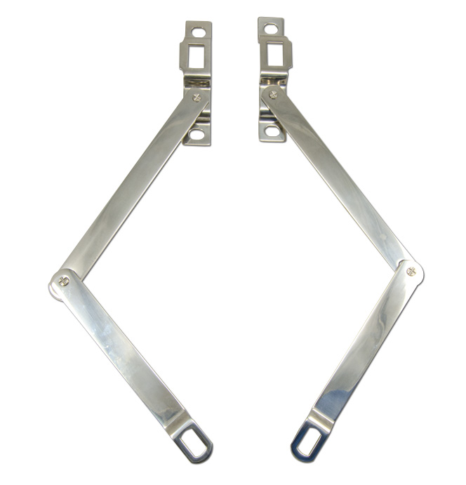 (1967-72)  Tailgate Link Assembly - Stainless - Pair