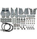 (1934-87)  Stepside Tailgate Latch Kit - Stainless Kit