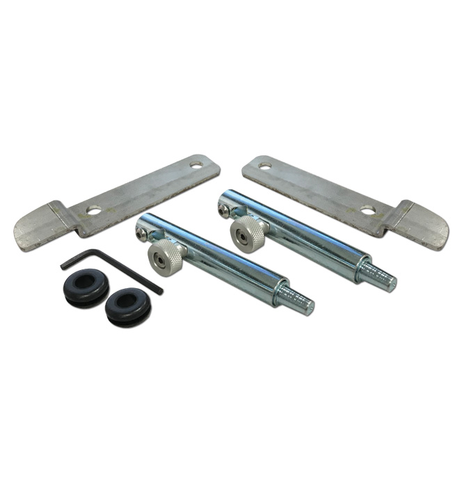 (1958-66)  Stealth Tailgate Latch Kit - Steel - Fleetside