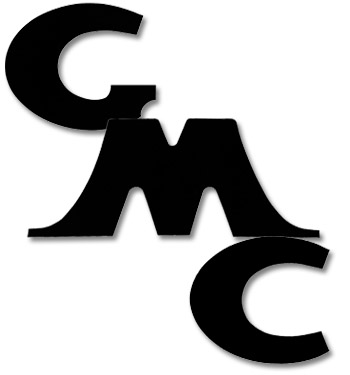 (1947-54)  Tailgate Letters - Black - GMC