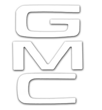 (1981-91)  Tailgate Letters - White - GMC - Fleetside