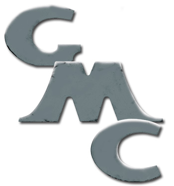 (1947-54)  Tailgate Letters - Chrome - GMC