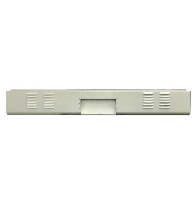 (1958-59)  * Rear Roll Pan w/ Box - 4 Row Louvered - Fleetside