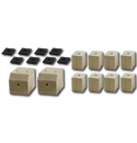 (1941-46)  Bed Mounting Block and Pad Set - Longbed