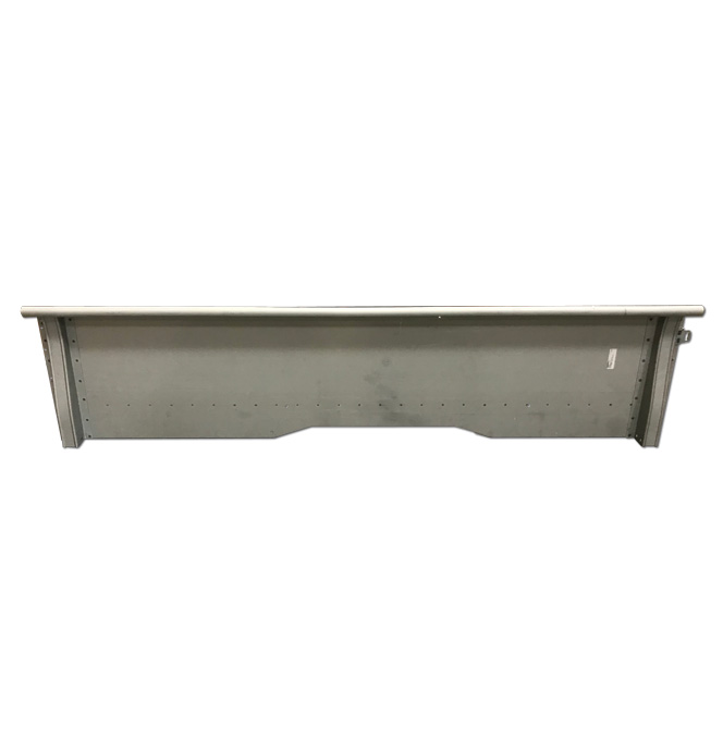 (1937-38)  ** Bed Side Panel - Longbed - Left - USA Made