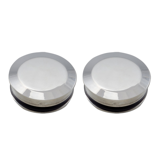 (1934-39) Bed Hole Caps - Polished Smooth
