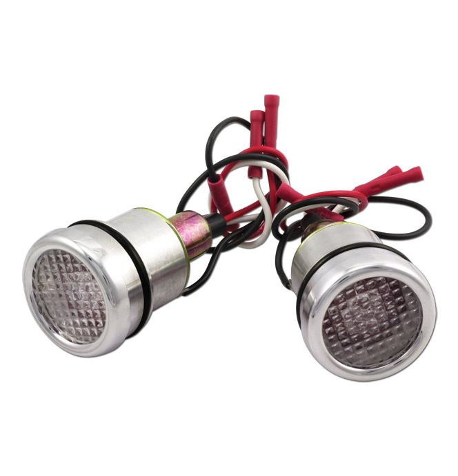 Bed Hole LED Lights-Red-Classic Chevy Truck Parts