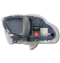 (1995-98)  Inside Door Handle - OEM - Blue - Left