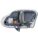 (1995-98)  Inside Door Handle - OEM - Blue - Right