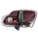(1996-98)  Inside Door Handle - OEM - Red - Right