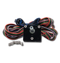 (1947-72)  Inside Power Window Crank Switch - 2 5/16