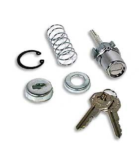 (1955-59)  Outside Door Lock w/ Key