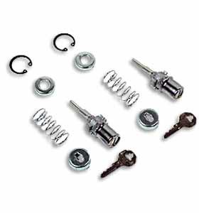 (1955-59)  Outside Door Lock w/Key-Matching