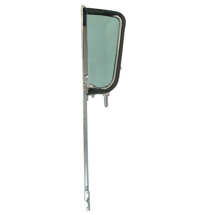 (1955-59)  Vent Window Assembly - Chrome - Left