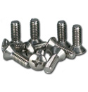 (1947-53)  Lower Door Hinge Panel Screws