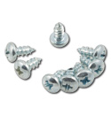 (1955-59)  Lower Door Hinge Panel Screws