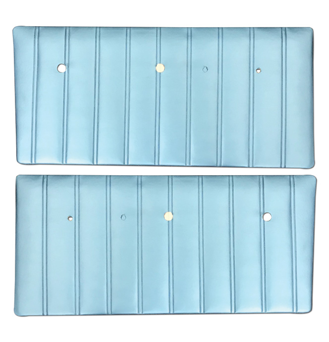 (1967-68)  * Door Panels - Bright Blue, Pre-Assembled