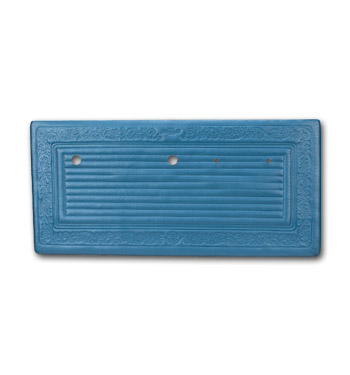 (1969)  * Door Panels - Bright Blue, Pre-Assembled