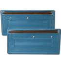 (1970-71)  * Door Panels - Bright Blue, Pre-Assembled