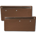 (1970-71)  * Door Panels - Dark Saddle, Pre-Assembled
