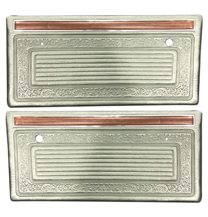 (1970-71)  * Door Panels - Metallic Green, Pre-Assembled
