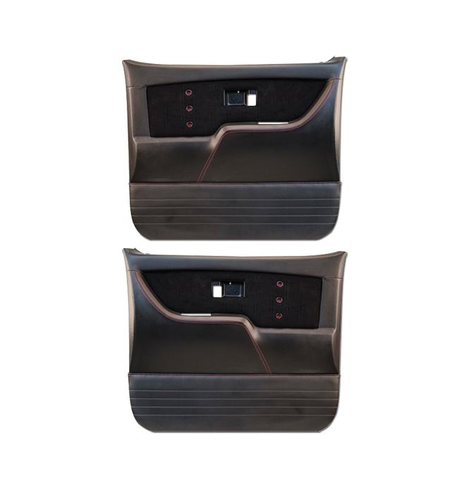 (1973-76) * Pro Series Door Panels - Sport-XR - Black - pr