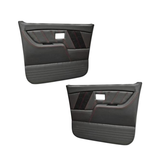 (1977-87) * Pro Series Door Panels - Sport-R - Black - pr