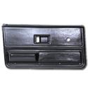 (1973-76)  * Door Panels - Replacement - Front - Black