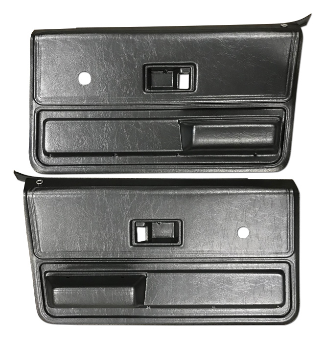(1973-76)  * Door Panels - Replacement - Front - Black