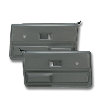 (1973-76)  * Door Panels - Replacement - Front - Gray