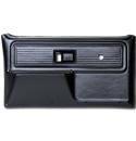 (1977-80)  * Door Panels - Repo - Front w/o Power Windows - Black