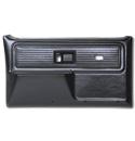 (1977-80)  * Door Panels - Repo - Front with Power Windows - Black