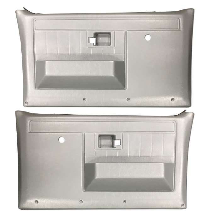 (1981-87)  * Door Panels - Repo - Front w/o Power Windows - Gray