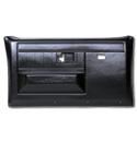 (1981-87)  * Door Panels - Rpmnt - Front with Power Windows - Black