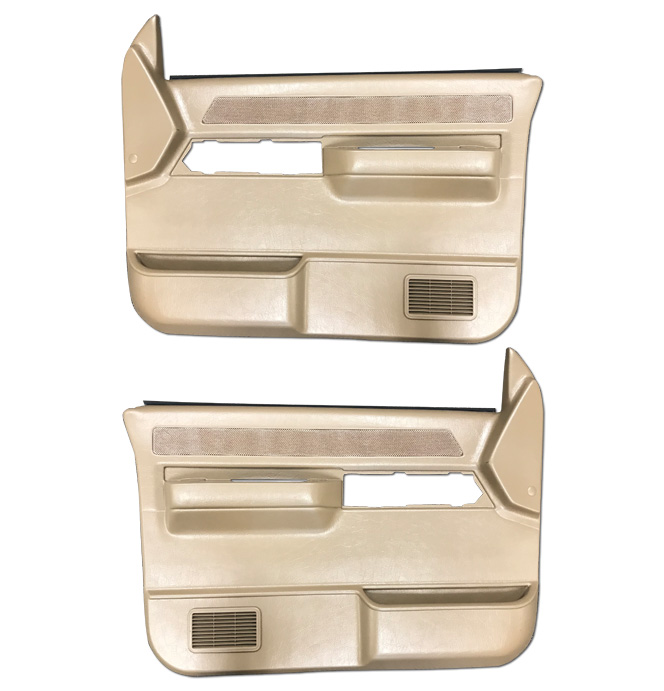 (1988-94) * Door Panels -w/o Silverado/SLE-w/Power-Saddle