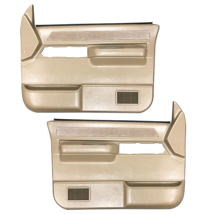 (1988-94) * Door Panels -w/o Silverado/SLE-w/o Power-Saddle
