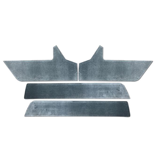 (1988-94)  Door Panel Velour Trim Kit - w/Silverado/SLE-Blue