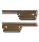 (1972)  Door Panel Woodgrain Inserts
