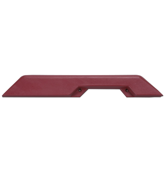 (1981-87)  Arm Rest-OEM Style-Left-Carmine Red