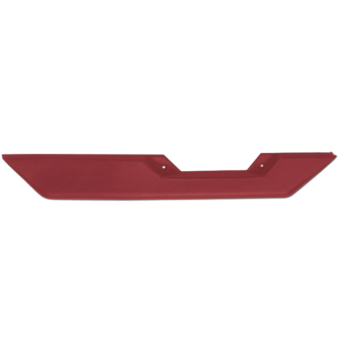 (1981-87)  Arm Rest-OEM Style-Right-Carmine Red