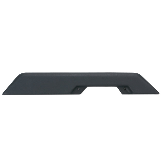 (1981-87)  Arm Rests - REPRO - Black - Front - Right