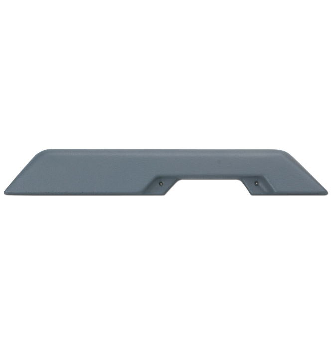 (1981-87)  Arm Rests-REPRO-Gray-Front