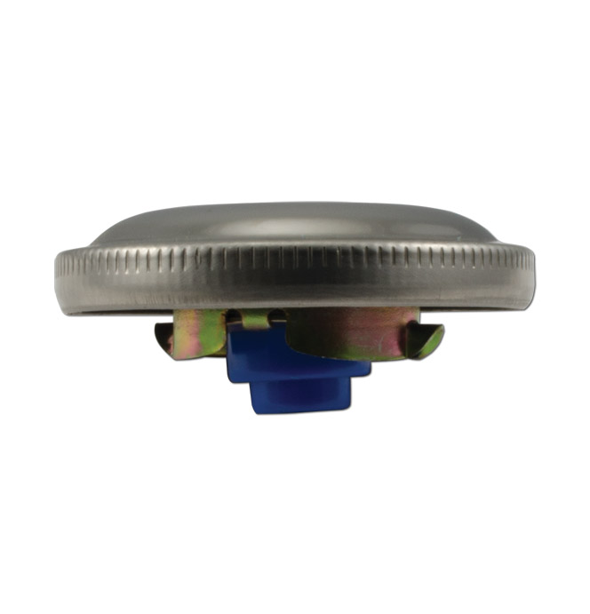 (1934-70)  Gas Cap - Stainless Steel