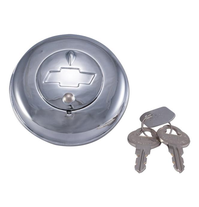 (1938-71)  Locking Gas Cap-Orig-Type-Bowtie