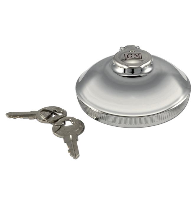 (1938-70)  Locking Gas Cap-Orig-Type-GM