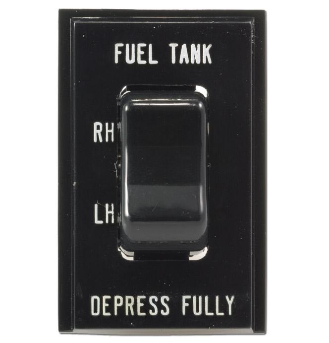 (1981-86)  Gas Tank Selector Switch & Bezel