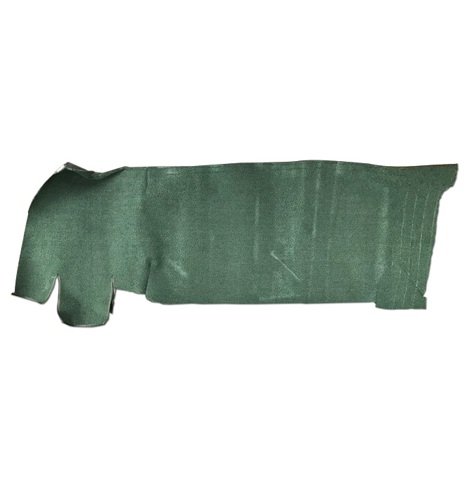 (1967-72)  * Gas Tank Cover-Carpeted-Green