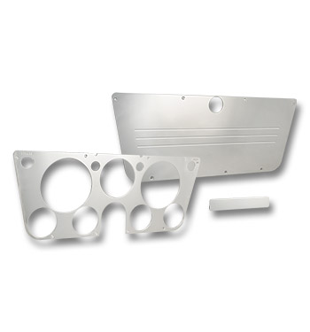 (1969-72) Instrument, Glove Box, Ash Tray Cover Kit-Polished-Lines