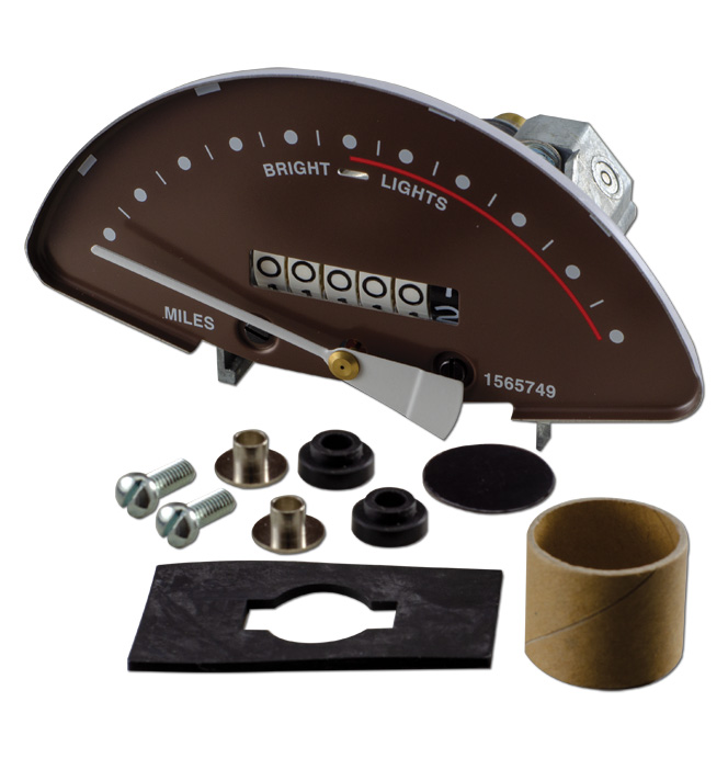 (1940-46)  Speedometer Chevrolet
